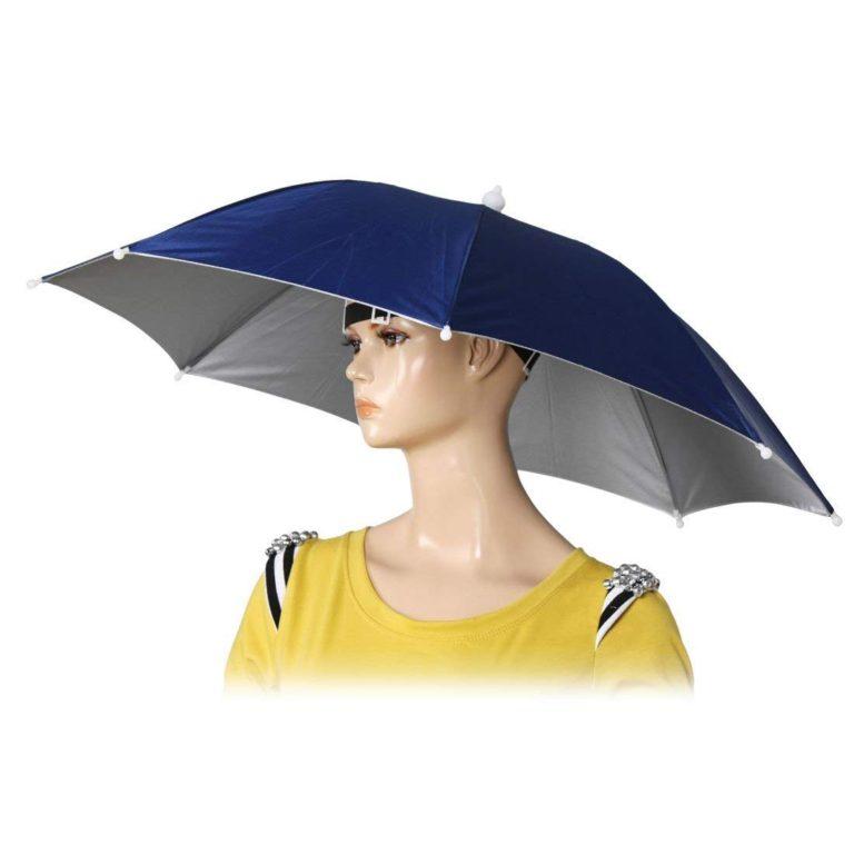 釣り用帽子傘を紹介している記事を見た感想